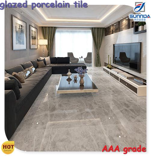 salon cuisine carrelage carreaux de sol imitation marbre