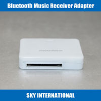 Bluetooth Music Receiver Adapter for iPod iPhone 30-Pin For SONY Speaker