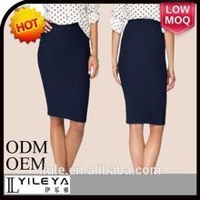 Latest alta calidad falda estrecha, corea falda larga de moda para mujer negocios