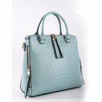 Crocodile grain sweet quilted handbag catalogs, handbag franchise