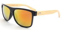 mirror bamboo sunglasses hot selling bamboo sunglasses recycled&best selling bamboo sunglasses china