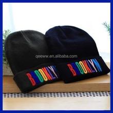 2015 Custom design funny knit mens knitting mens winter hats