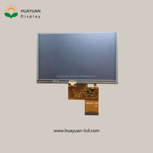 capacitive touch screen 5 inch 480x272 RGB TFT lcd module