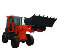 Europe Popular Selling Mini Front End Wheel Loader ZLY916A With Quick Hitch and Joystick