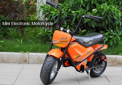 "250W Mini Electric Motorcycle ""Moto E250"" - 250Watt Motor 24 Volt Power, 15km/h Top Speed, 11 Inch Tires, 100KG Max Load"