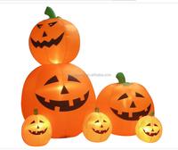 Giant artificial halloween decoration pumpkin for kids inflatable pumpkin costume