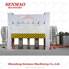moulded door skin laminating machine/plywood production hot press making machine/Furniture melamine paper hot press