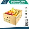 Factory derect Printing strong fruit packing banana carton box