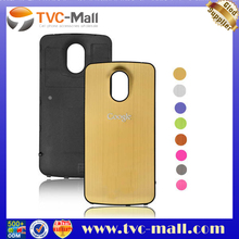 Metal Brushed For Samsung Galaxy Nexus i9250 Housing Back Cover Battery Cover - Gold