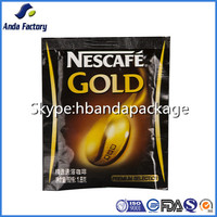 Instant Coffee Plastic Packaging Bag/Small Coffee Bag