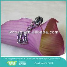 Fancy slider No.5 for nylon zipper with aluminium ring pull tab