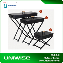 Factory Price 3 Sizes Foldable Barbecue Grill