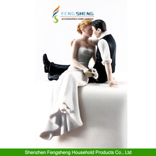 "Wedding Cake Topper ""So Much in Love"" Bride and Groom Wedding Engagement Party"