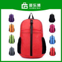 Promotional Foldable Stock Backpack Bag