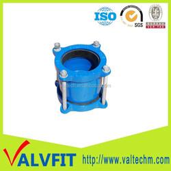 Ductile cast iron flexible Coupling for PVC Pipe