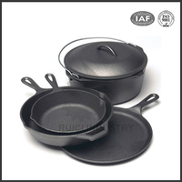 china high quality custom mini cast iron skillet with cheap price