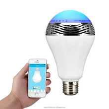 LED Light Bulb with Bluetooth Connectivity