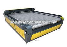 aol1625 130w ooi automático de alimentación de corte por láser de la máquina de corte de cuero