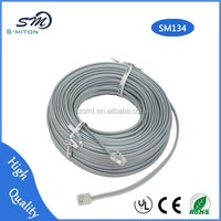 cable white telephone rj11 high-speed 7m