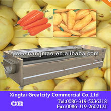cheap commercial patato washing and peeling machine