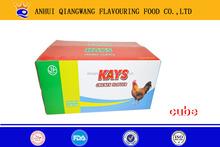 QWOK -10g/tablet x 15tablets/bag series bouillon cube halal onion curry seasoning cube,chicken ,beef ,shrimp,etc cube