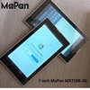 MaPan brand cheapest smart tablet pc 3g sim card slot, wifi mobile phone 1024x600 pixel tablet calling function