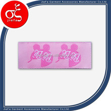 Without MOQ Custom Woven satin artwork labels more colors for garment