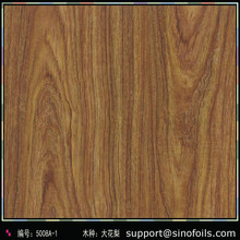 aluminum wood grain foil Italian's quality wood grain Sublimation transfer film paper small wood eyes natural surface looking