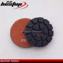 2016 Hot Selling Granite Marble Diamond Resin Polishing Pads For Angle Grinder