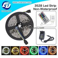Hot 300 led 3528 smd 12v flexible light led tape Non waterproof 5 meter led light strip