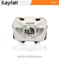 OEM welcome beautiful white color light led headlamp with red strobe