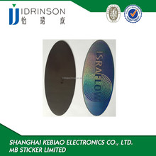 big oval shape soft magnet fridge sticker