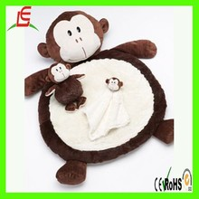 LE C1550 baby bed play time super soft material plush baby animal mat