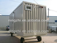 20ft/40ft standard size color steel container house