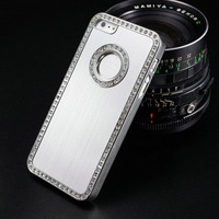 Mobile Phone Accessory Crystal Dot Bling Unbreakable Waterproof Cell Phone Case Cover Like Photo Frame for Iphone 5 5S