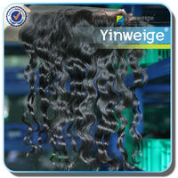 24h SALE, 1 piece 16 inch, professional loose wave synthetic brazilian virgin hair lace front wig