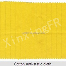 100% cotton 20*16 yarn 270gsm industrial flame retardant and anti-static fabric for FR safety garment