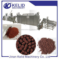 2015 Hot sell new condition fish feed mill extrusion line