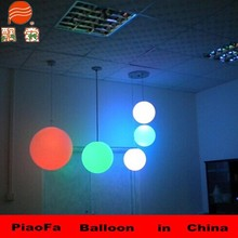 Colored light PVC balloon can be hang