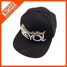 cheap adjustable acrylic customized flat brim sports hat and cap