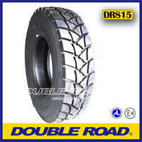 Regroovable radial all steel heavy duty truck tires 22.5 315/80r22.5
