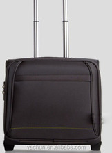 Classic light weight trolley case rolling laptop bag wheel bag