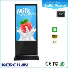 42 inch digital signage ads with 6 points touch
