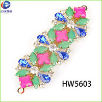HW5603 renqing shoe collection rhinestone light nude resin thong Flip Flops ornaments