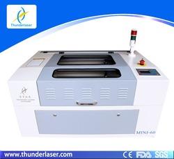 Mini 600x400mm 40W Red Dot Pointer CO2 Laser Machine Fabric Cutter