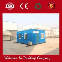 Low cost dormitory made of prefabrited container house fast food