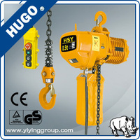 Wholesale portable 1 Ton Electric Chain Hoist Used 12 m 1 Ton electric hoist price