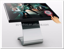"32"" IR Multi Touch screen, Soft Key return click touch Stand floor lcd advertising player in mall"