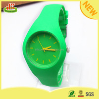 silicon watch wholesale quartz sport jelly watch strap