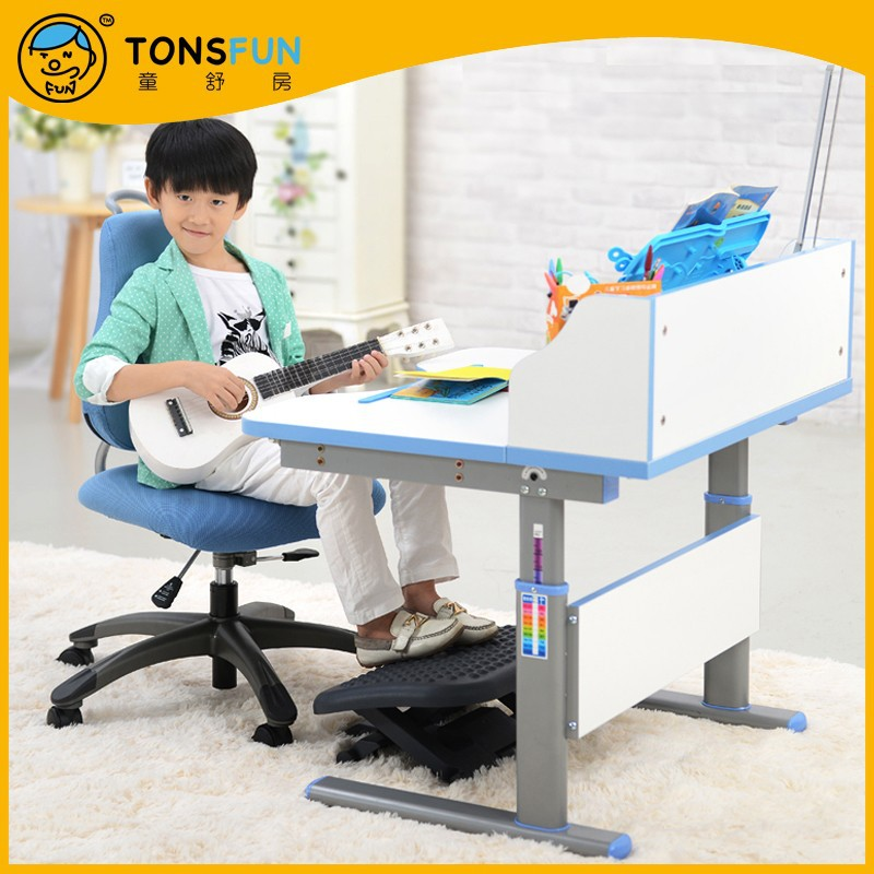 Brand child kids 39 study desk chair suit school home for Study table for 2 kids
